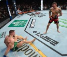 Conor McGregor Looses at UFC 264 After Serious Leg Bending Injury—Leaving Poirier With A TKO Win!