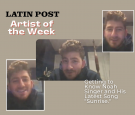 Latin Post Artist of the Week: Getting to Know Noah Singer and His Latest Song Sunrise