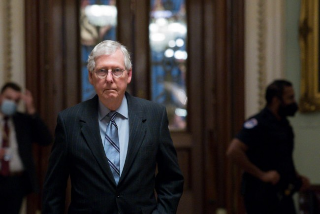 Sen. Mitch McConnell Says Pres. Joe Biden Won't Be Impeached Over Afghanistan, Says Hold Him Accountable at 'Ballot Box'