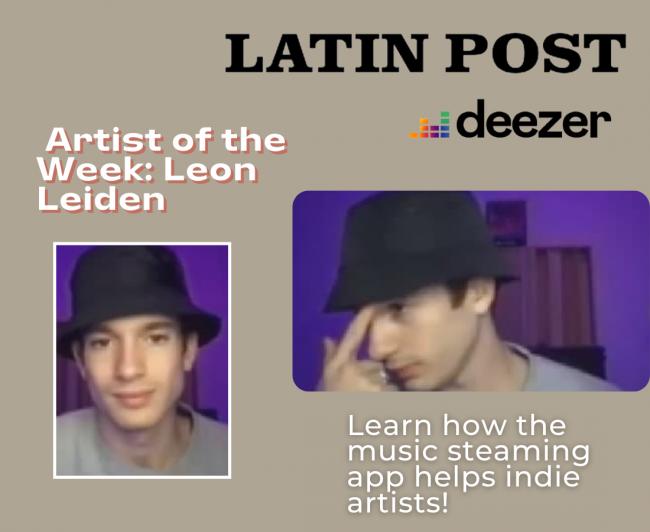 Latin Post  Artist of the Week: Leon Leiden