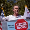 Gov. Gavin Newsom Tours Around Southern California Ahead of Recall Elections, Some Democrats Show Support