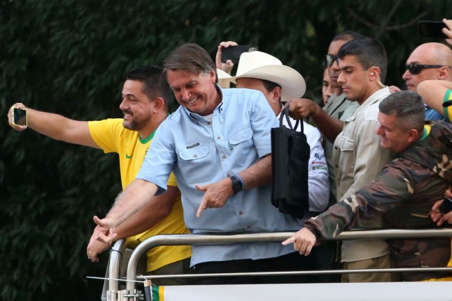 Brazil's Jair Bolsonaro Says Only God Can Remove Him From Power Amid Rallies, Supreme Court Fight
