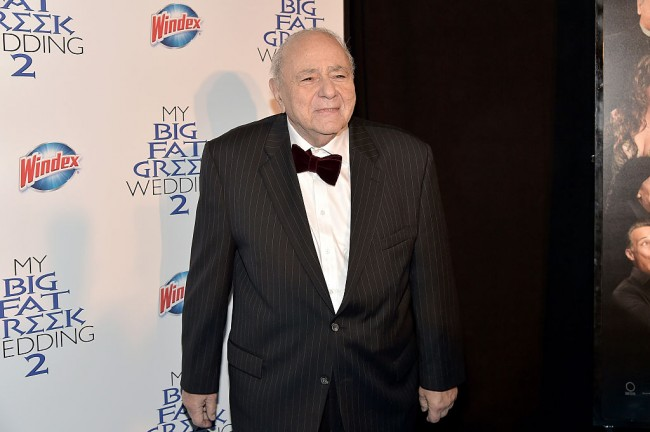 Michael Constantine, Who Played the Father in 'My Big Fat Greek Wedding,' Dies at 94