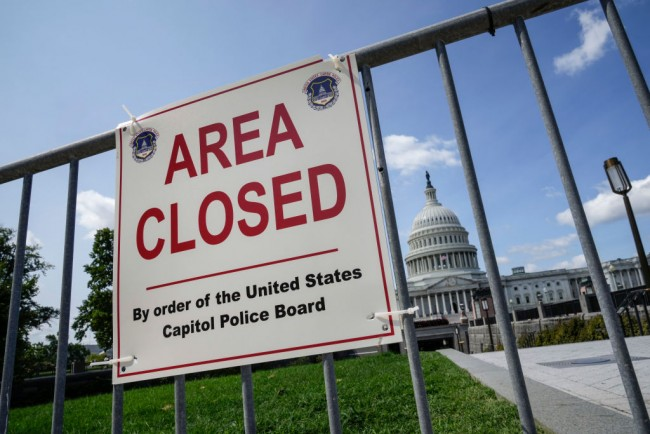 Capitol Police to Reinstall Temporary Fence Ahead of Weekend Pro-Trump Demonstration