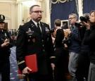 Ex-Army official Alexander Vindman on Capitol Hill