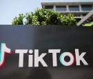 TikTok sign outside Office
