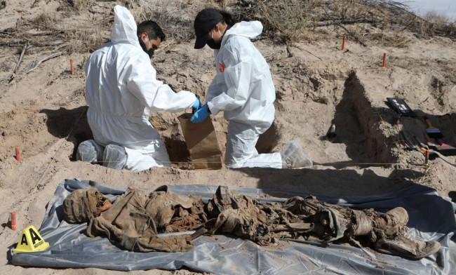 Mexico: Mass Grave Filled With 10 'Tortured' Bodies Found After Authorities Receive an Anonymous Tip