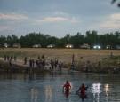Haitian Migrants on Rio Grande River