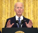 Pres. Joe Biden Reacts Negatively to Donald Trump 'Toys,' Giant TV Screens Left in the White House