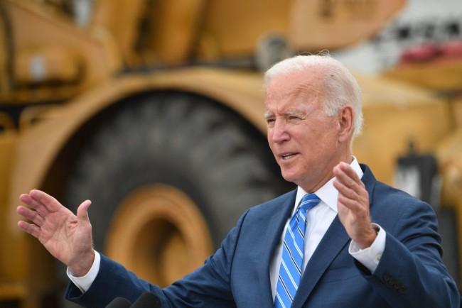 """Aren't We Next to a School?"": Pres. Joe Biden Responds to Anti-Biden Chants of Michigan Protesters During His Visit"