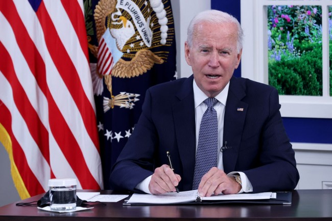 Pres. Joe Biden Says He Personally Phoned Emergency Room for a Good Friend During a COVID Vaccine Mandate Talk