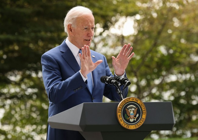 Pres. Joe Biden Declines Questions From Reporters After His Press Briefing on September Employment Rate