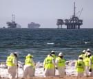 Amid Oil Spill, Californians Return To Local Beaches