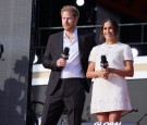 Duke and Duchess of Sussex, Prince Harry and Meghan Markle on Global Citizen Live