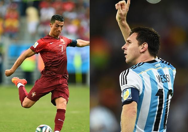 World Cup 2014 -- Messi vs. Ronaldo: Which Player Had a ...