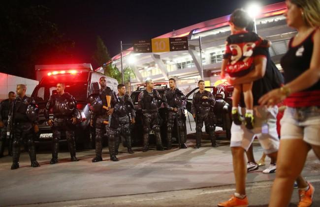 FIFA World Cup 2014 Brazil Rio De Janeiro Maracana stadium police security forces
