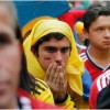 Neutrals mourn as carefree Colombia bow out to Brazil