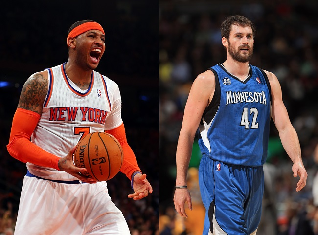 With Carmelo Anthony Signed, New York Knicks Looking at Big Free Agents for Summer of 2015