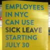 NYC paid sick leave