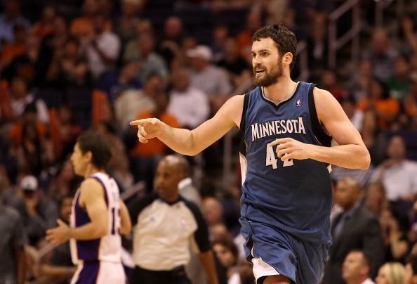 Minnesota Timberwolves Power Forward Kevin Love