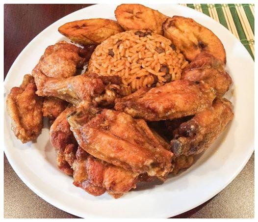 wings, food, puerto rican
