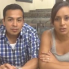 DREAMers Cesar Vargas (left) and Erika Andiola (right) talk about Deferred Action for Childhood Arrivals after confronting Rep. Steve King, R-Iowa, on Aug. 4, in Okoboji, Iowa.