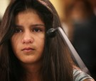Twelve-year-old Mayeli Hernandez during a hearing before the Congressional Progressive Caucus July 29, 2014 on Capitol Hill in Washington, DC