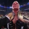 Brock Lesnar Defeats John Cena for the WWE World Heavyweight Championship
