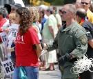 immigration immigrants protest arrest SWAT