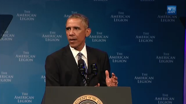 U.S. President Barack Obama on Tuesday spoke on his executive actions on VA reform.