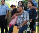 Catalino Guerrero with his granddaughter, Elizabeth, gets stay of removal, faced imminent deportation, August 28, 2014