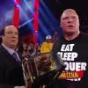 Brock Lesnar Retreats From John Cena Before Night Of Champions on WWE Raw
