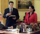 Maria Echaveste bill clinton oval office