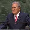 El Salvador President Salvador Sánchez Cerén United Nations General Assembly UN