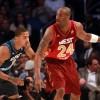 Derrick Rose and Kobe Bryant