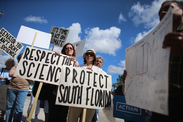 Climate Change Rally in Florida