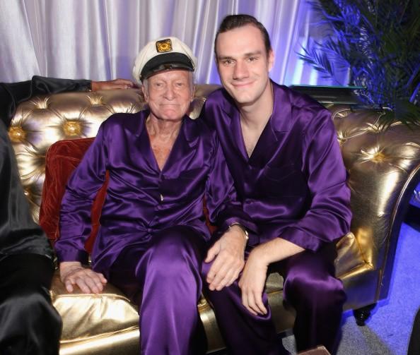 Hugh Hefner's son Cooper Talks About Growing up in Playboy Mansion