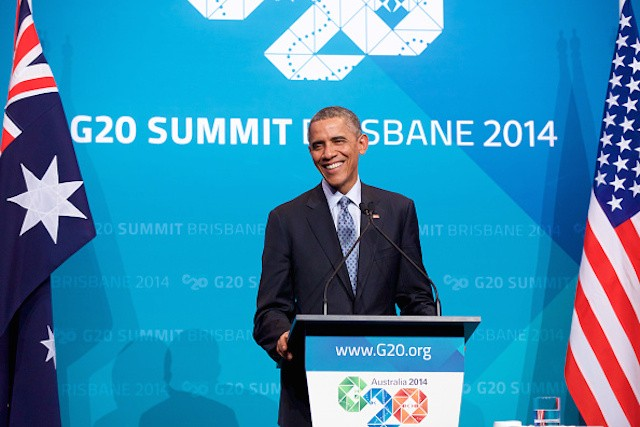 Obama Addresses Reaction to Imminent Immigration Reform Executive Action at G20 Summit