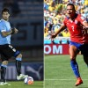 Uruguay Prepares For the 2015 Copa America Without Luis Suarez (L - #9) While Chile's Alexis Sanchez Continues to Have a Career Year