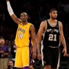 NBA Legends Kobe Bryant and Tim Duncan--Who's The Better Player?