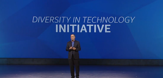 Diversity in Technology, Intel's historic $300 Million pledge for parity by 2020