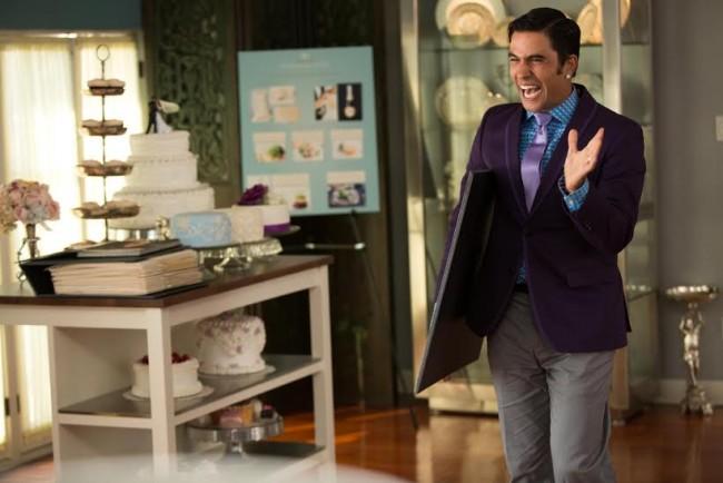 """Ignacio Serricchio as """"Edmundo"""" in """"The Wedding Ringer"""""""