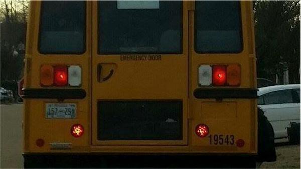 Satanic Bus Lights pentagram tennessee