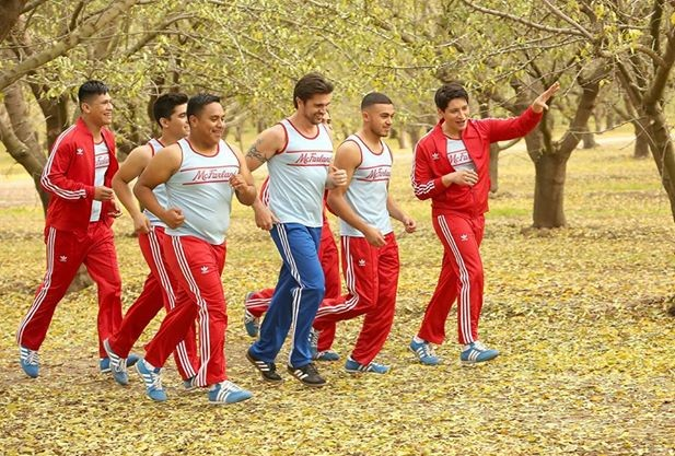 """Juanes and the Cast of """"McFarland USA"""""""