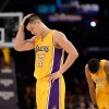 Los Angele Lakers Point Guard Jeremy Lin