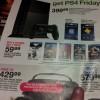 Target PlayStation 4 flyer