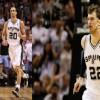 San Antonio Spurs Players Manu Ginobili and Tiago Splitter