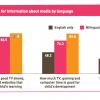 Latino Parents, internet, tv, media and education