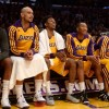 Los Angeles Lakers Bench
