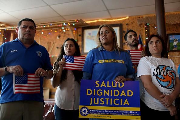 Floridians Protest Injunction Blocking Obama Immigrant Deportation Protection